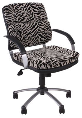 Presidential Seating Zebra Print Desk Chair