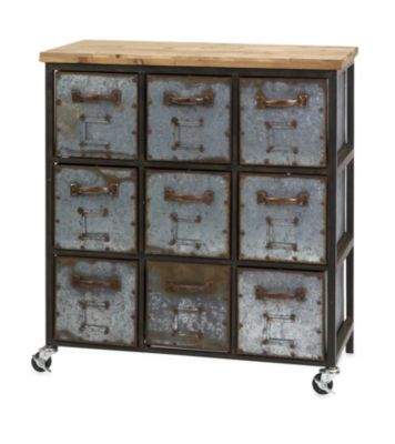 Imax Holloway 9-Drawer Cabinet
