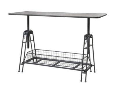 Imax Henry Adjustable Metal Work Table