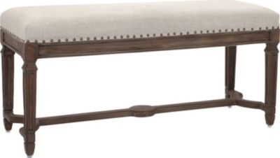 Imax Grayson Upholstered Bench