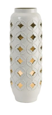 Imax Calvinia Cutwork Ceramic Lamp