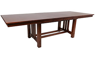 Intercon Oak Park Trestle Table