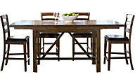 Intercon Santa Clara Counter Table & 4 Stools
