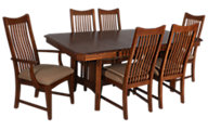 Intercon Pasadena Revival 7-Piece Dining Set