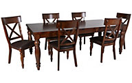 Intercon Kingston Table & 6 Chairs