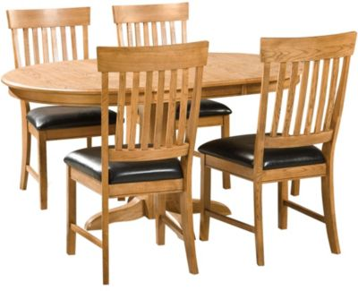 Intercon Family Dining Table & 4 Side Chairs