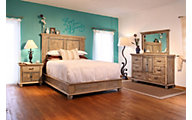 Int'l Furniture Praga 4-Piece King Bedroom Set