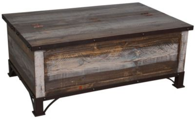 Int 39 L Furniture Antique Storage Coffee Table Homemakers Furniture
