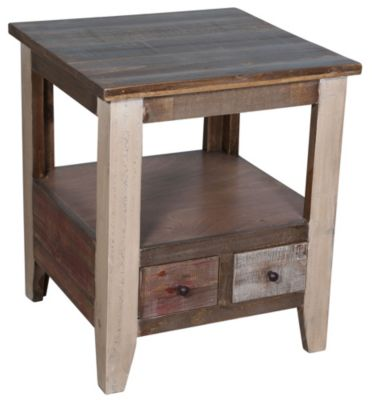 Int'l Furniture Antique End Table