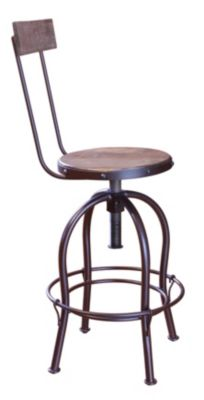 Int'l Furniture Antique Collection Adjustable Bar Stool