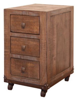 Int'l Furniture Urban Gold Storage Cabinet