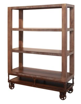 Int'l Furniture Urban Gold 55-Inch Bookcase