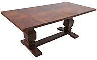 Int'l Furniture Terra Copper Top Table