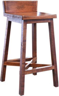 Int 39 L Furniture Pueblo Brown Bar Stool Homemakers Furniture