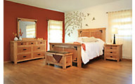 Int'l Furniture Lodge 4-Piece King Bedroom Set