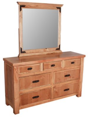 Int'l Furniture Lodge Dresser with Mirror