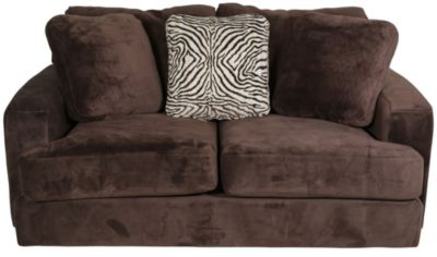 Jackson Palisades Chocolate Loveseat
