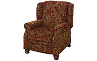 Jackson Belmont Red Press-Back Recliner