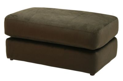 Jackson Mesa Chocolate Storage Ottoman