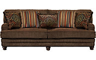 Jackson Brennan Chocolate Sofa