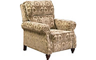 Jackson Brennan Tan Press-Back Recliner