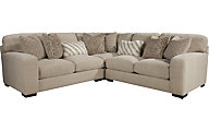 Jackson Serena Cream 3-Piece Sectional