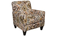 Jackson Zachary Floral Accent Chair