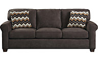 Jackson Zachary Chocolate Sofa