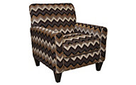 Jackson Zachary Chevron Accent Chair
