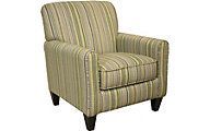 Jackson Zachary Striped Accent Chair