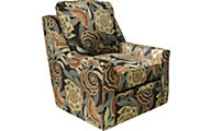Jackson Sutton Floral Accent Swivel Chair