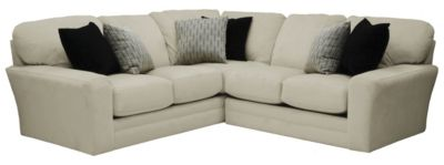 Jackson Everest Ivory 2-Piece Sectional