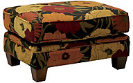 Jackson Hartwell Floral Accent Ottoman