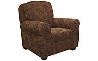 Jackson Downing Cinnamon Press-Back Recliner