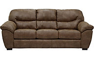 Jackson Grant Silt Bonded Leather Sofa
