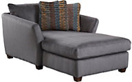 Jackson Brighton Gray Chaise