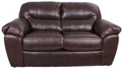 Jackson Brantley Bonded Leather Loveseat
