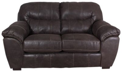 Jackson Grant Bonded Leather Loveseat