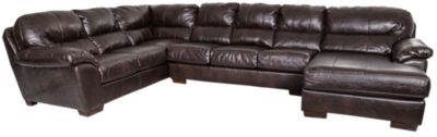 Jackson Lawson Bonded Leather 3-Piece Sectional