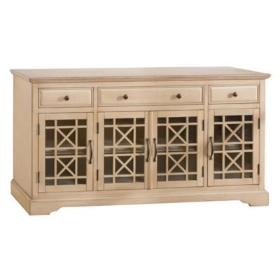 Jofran Craftsman Antique Cream 60-Inch Media Unit