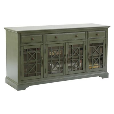 Jofran Craftsman Antique Jade 60-Inch Media Unit