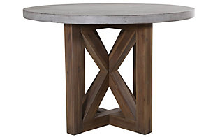 Jofran Boulder Ridge Round Concrete Table