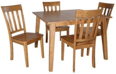 Jofran Simplicity Table & 4 Side Chairs