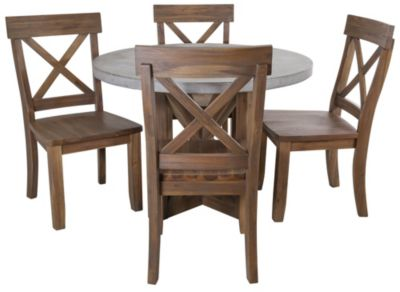 Jofran Boulder Ridge 5-Piece Dining Set