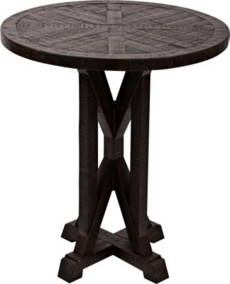 Jofran Pacific Heights Round Pedestal End Table
