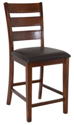 Jofran Taylor Brown Cherry Counter Stool
