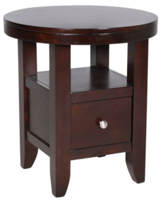 Jofran Marlon Round End Table