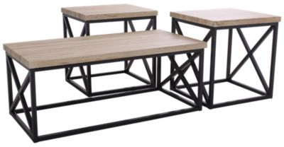 Jofran Orion Ash Coffee Table & 2 End Tables