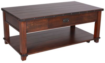 Jofran Cassidy Brown Coffee Table