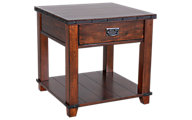 Jofran Cassidy Brown End Table